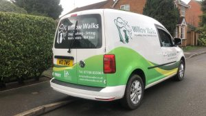 Willow Walks Dog Van